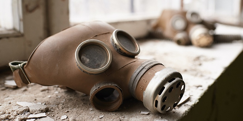 Chernobyl gas mask