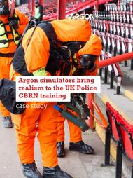 Argon simulators brought realism to Bristol Police CBRN training