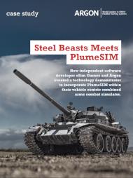 Steel Beasts meets PlumeSIM