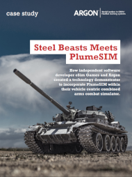 Steel Beasts meets PlumeSIM