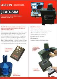M4 JCAD Chemical Hazard Detection Simulator