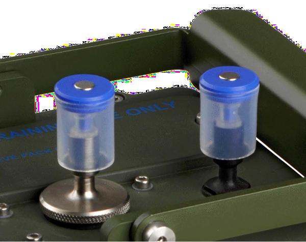 ACADA chemical hazard detection simulator rain caps