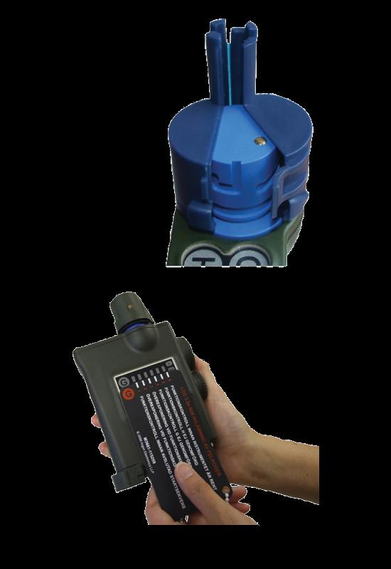 JCAD M4 chemical hazard simulator features
