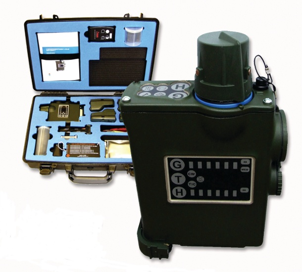 LCD3.2e Chemical Hazard Simulator