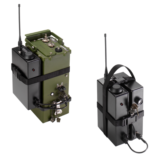 CBRNe HazMat training Detector Alarm Nascap outstation and repeater units.png