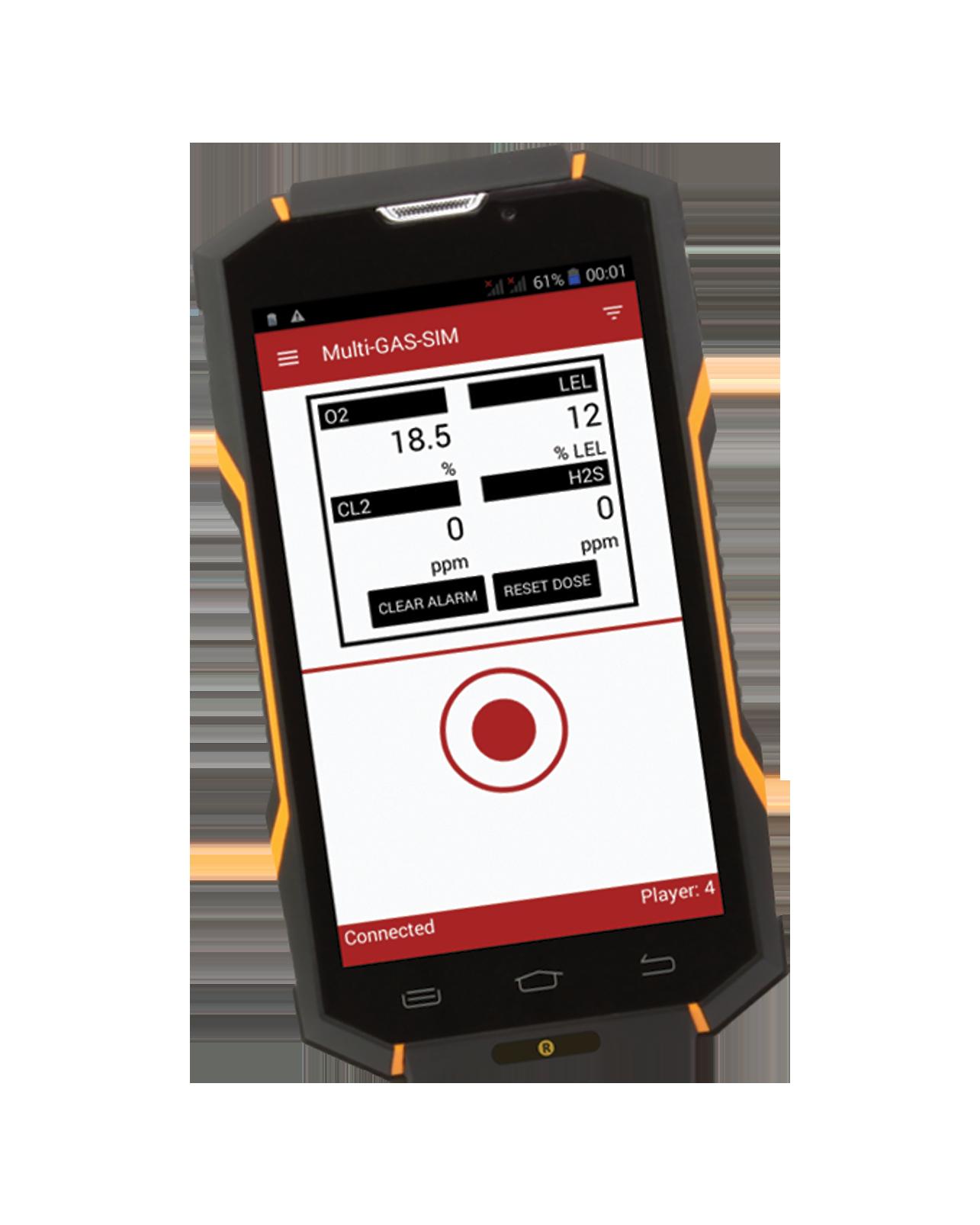 PlumeSIM SMART Tabletop CBRNe training system