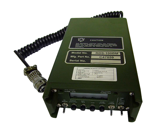 BG-SIM-P Radiation Hazard Detection Simulator compatible with the AN VDR-2  PDR-77