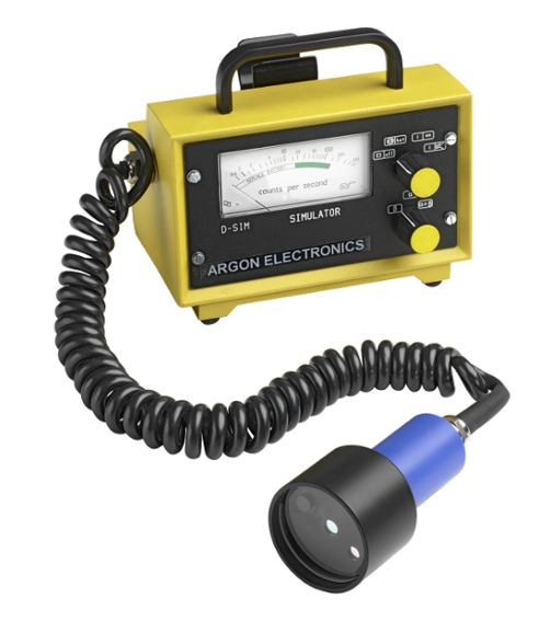 Radsim DS3 Mini 900 radiation contamination detection simulator