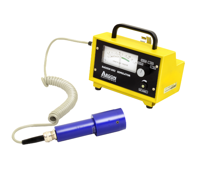 Radsim DS3 Mini 900 radiation hazard detection simulator