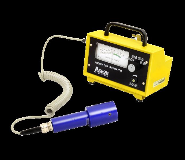 Radsim DS3 Mini 900 radiation hazard detection simulator