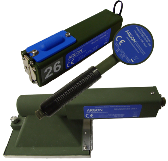 RDS-100-SIM radiation hazard detection simulator probes