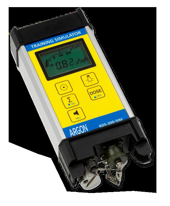 radiation hazard detection simulator RDS-200-SIM from Argon