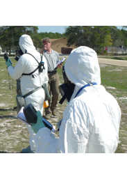 Plume SIM wide area CBRN / HazMat training system