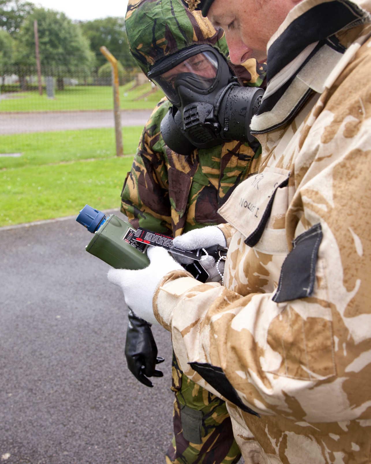 Chemical Hazard Detection Solutions for CBRNe HazMat Training