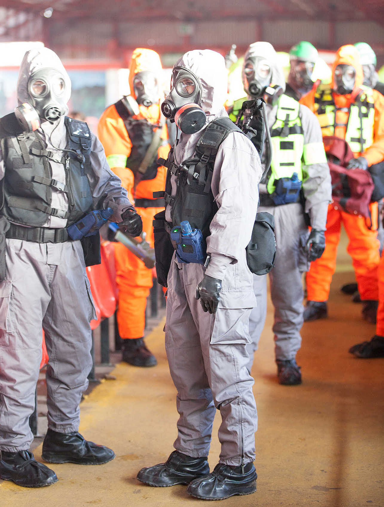 Wide area live cbrne training sharper