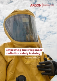 Improving first responder radiation safety training