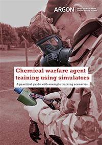 Chemical warfare agent training using simulators