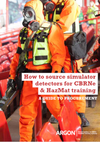 how to source simulator detectors for CBRNe & HazMat training