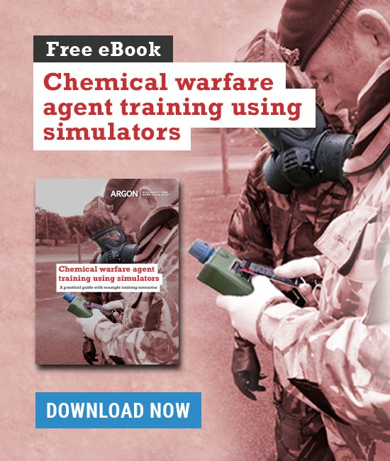Chemical warfare agent training