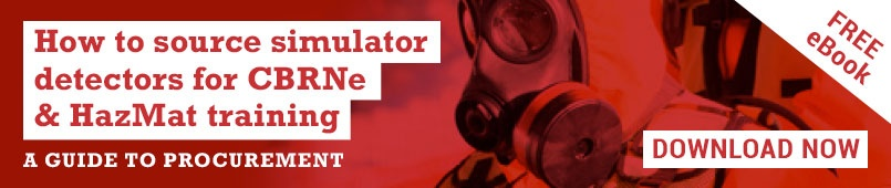 Download how to source simulator detectors for CBRNe & HazMat training