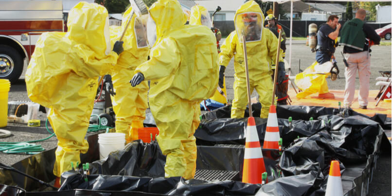 The role of personal protective equipment in realistic hazmat training