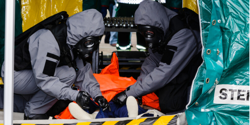How hands-on CBRNe training can develop situational awareness