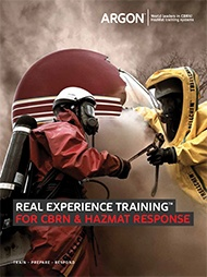 Argon First Responder CBRN HazMat Simulation Brochure