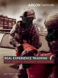 Argon Military CBRN HazMat Simulator Brochure - English