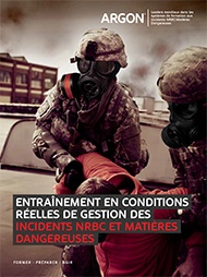 Argon Military CBRN HazMat Simulator Brochure - French