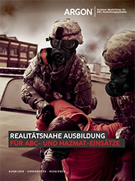 Argon Military CBRN HazMat Simulator Brochure - German