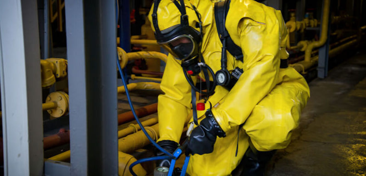 Using simulated sources to train for live radiological incidents
