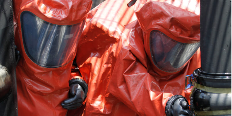 The role of simulation in countering chemical threats