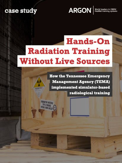 Hands-On Radiation Training Without Live Sources