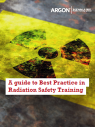 Argon A guide to Best Practice in Radiation Safety Training