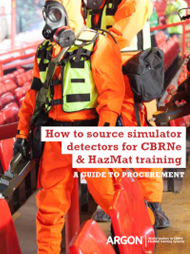 How to Source Simulator Detectors for CBRNe and HazMat Training
